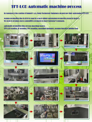 TFT LCD Module Automatic machine process